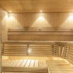 Sauna und Training