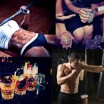 Does alcohol slow down muscle growth and / or fat burning?