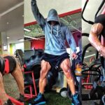 Das Beintraining von The Rock