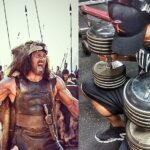 Hercules-Workout von The Rock