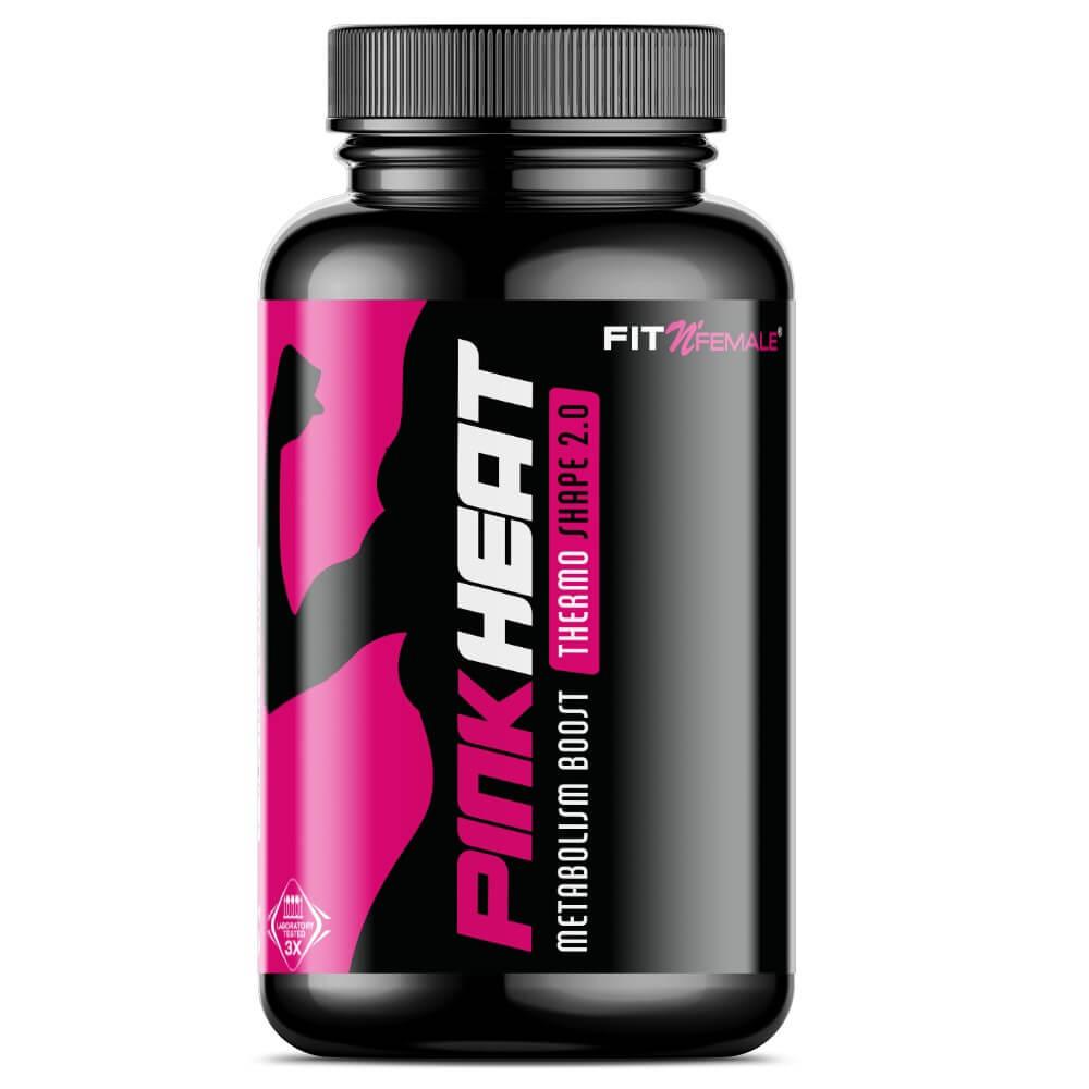 Fatburner Pink Heat Fitnessmagnet