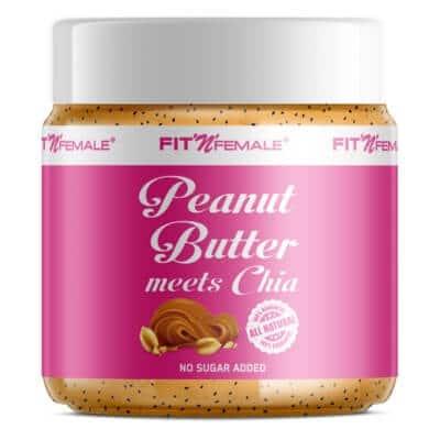 Le beurre d'arachide rencontre Chia