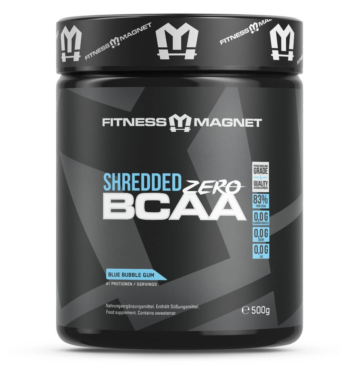 Shredded BCAA Zero - Fitnessmagnet©