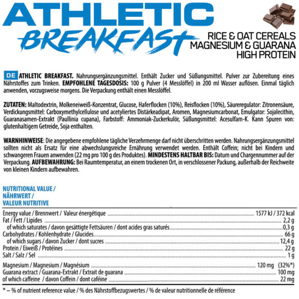 Athletic Breakfast 3