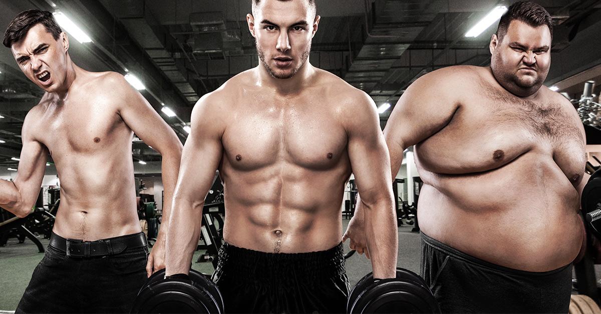 Die 3 Körpertypen - Bestimme deinen eigenen Körpertyp