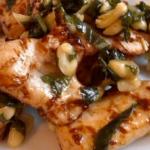 Pesto-Hühnchen-Salat