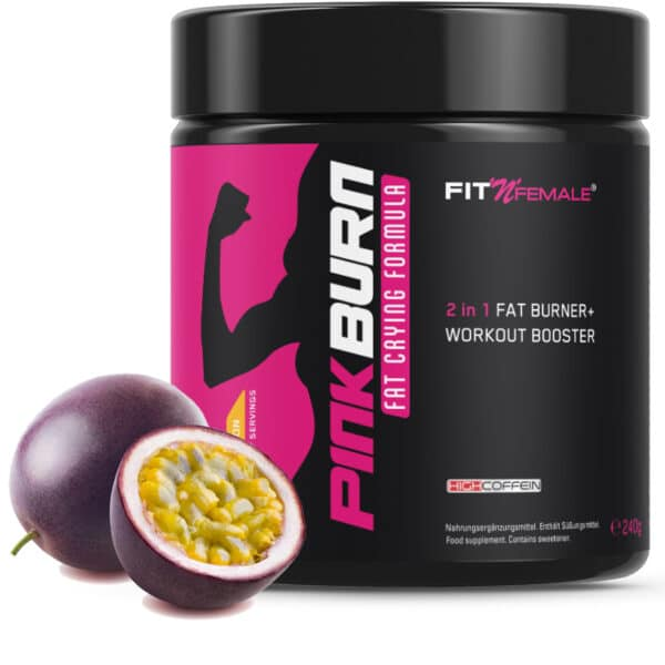 Pink Burn (2 In 1 Fatburner & Booster) 1