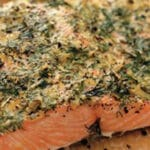 Baked lemon-herb salmon