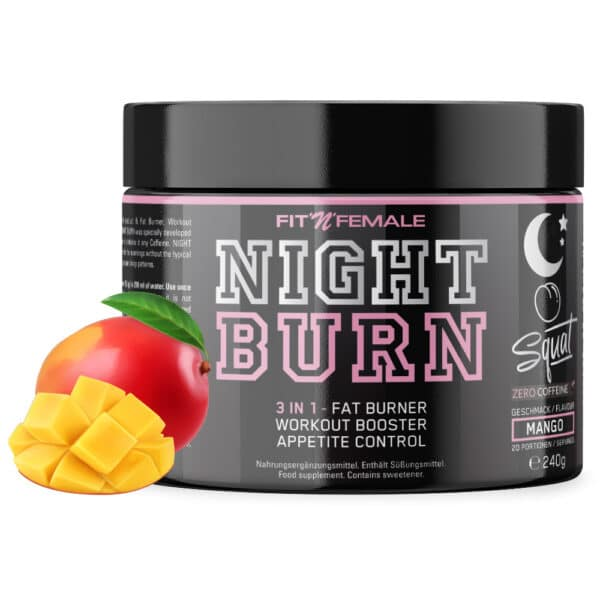 Night Burn (3 in 1 – Fatburner, Booster & Appetite control) 1