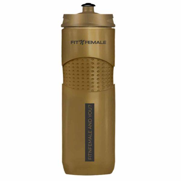 Trinkflasche Gold 1